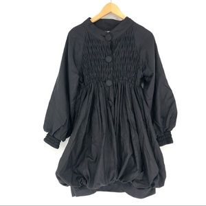 Ryu Anthropologie Black Coat Avant Garde Japanese